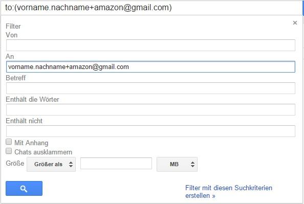 mailfilter