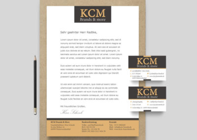 Marketingmaterial – KCM Feuersäulen Brands