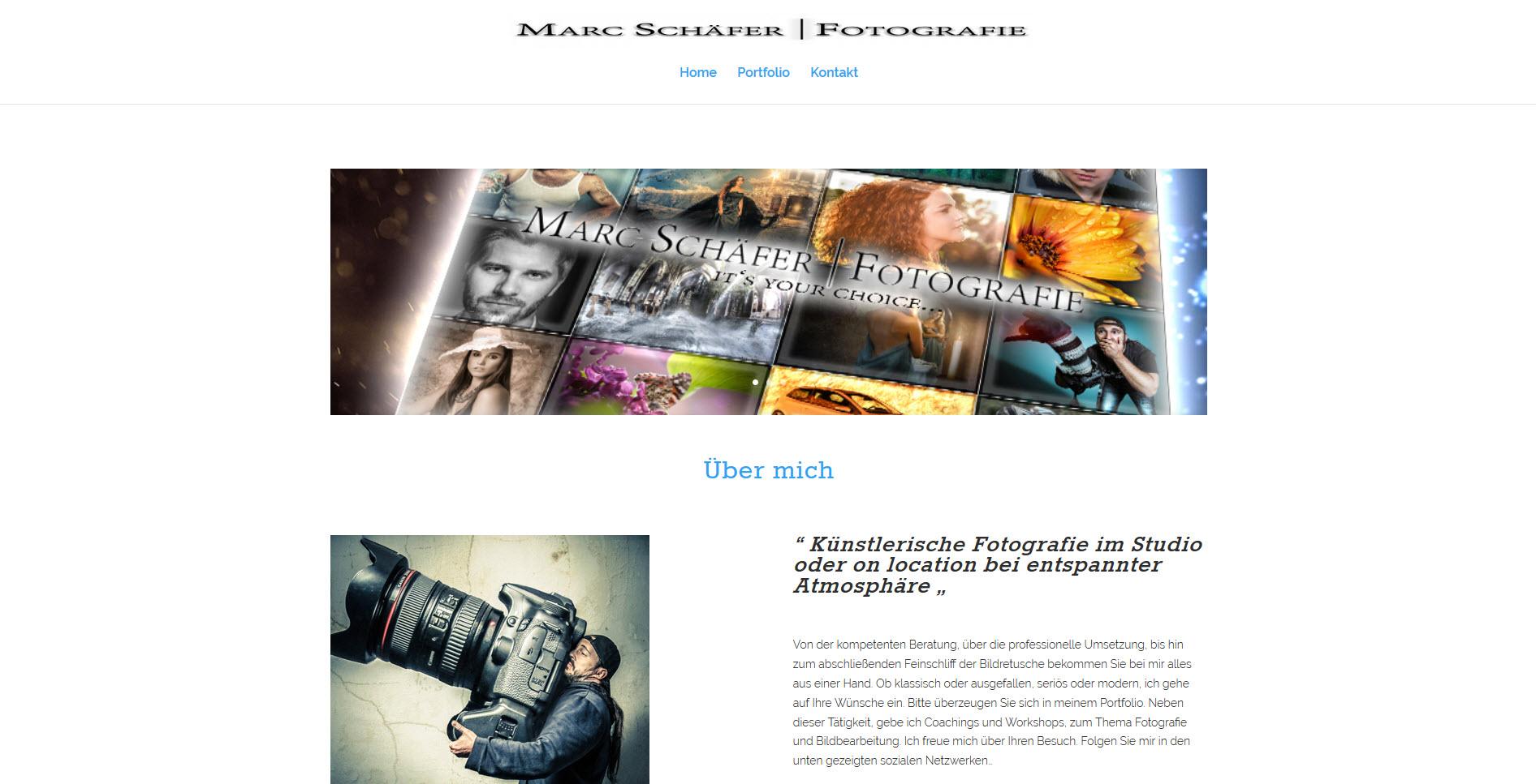MarcSchäfer Startseite