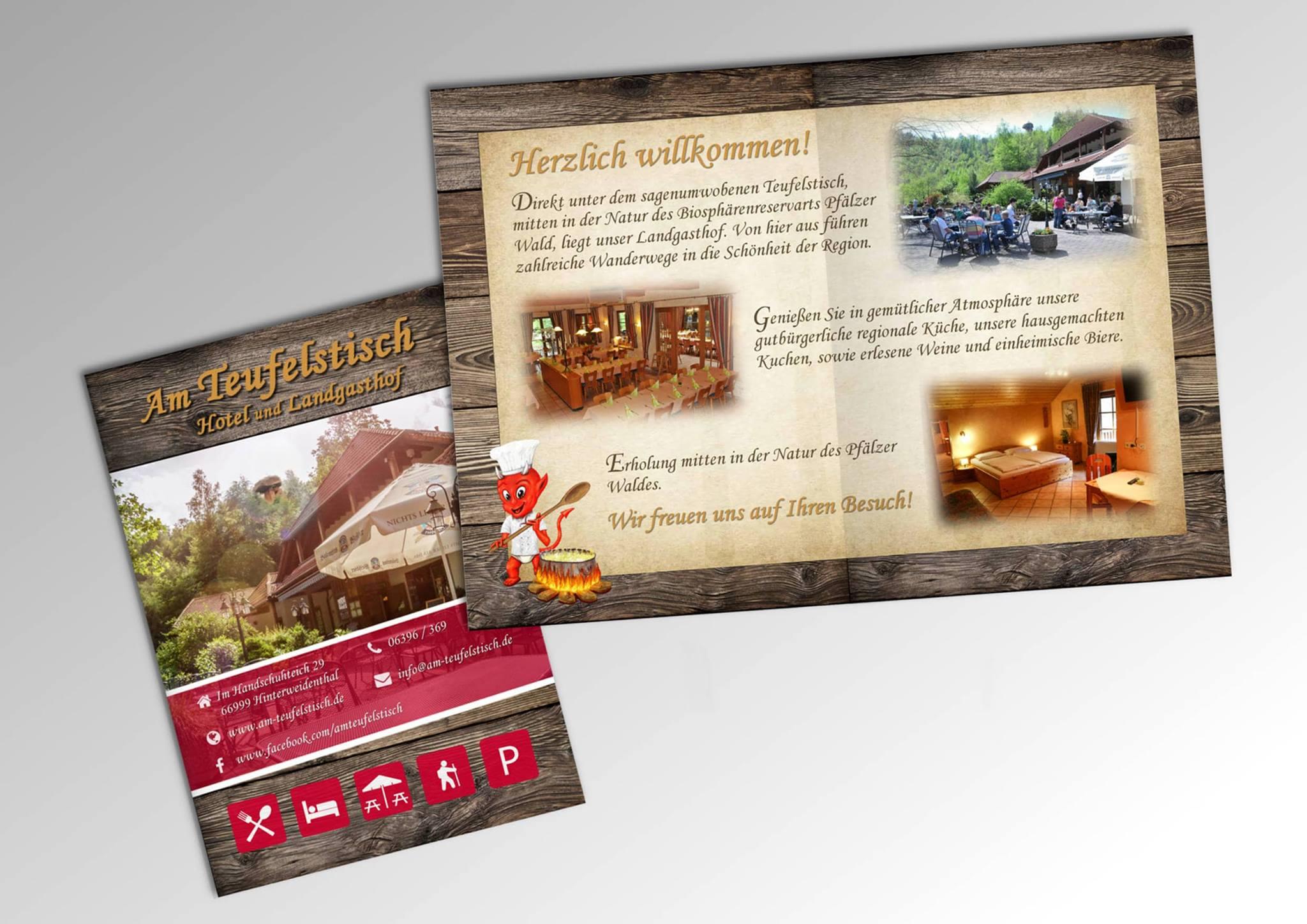 Flyer und Marketingmaterial | b-scheidt.de