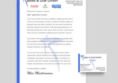 Marketingmaterial – Radtke und Graf