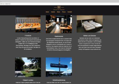 hotel-zum-ostpark-landau - Gastronomie