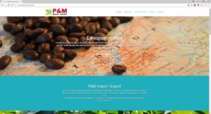 P&M Import Export - Ethiopian coffee