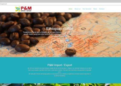 P&M Import Export - Ethiopian coffee