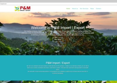P&M Import Export - Home