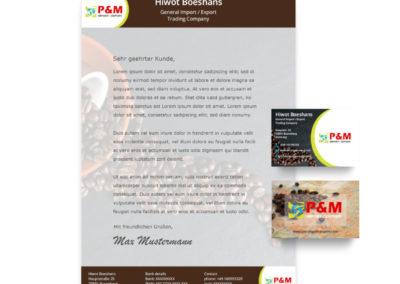 Marketingmaterial – P&M Import Export