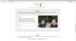 PURA - Die Tischler Home Leistungen